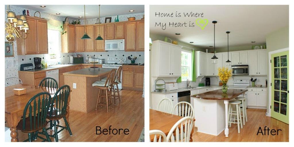 small kitchen remodel before and after al apartment kitchen a nagy ennyit szamit burkolat - Cheap Kitchen Makeover Ideas Before And After