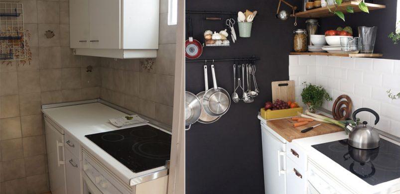 Mini-konyha átváltozás: amikor a rút kiskacsából hattyú lesz ...